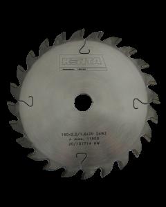 HM zaagblad 160 x 20 / Z24 WZ, fabr. Kenta