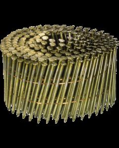 Doos à 7.200 ringspijkers op draad 16° - 2,5 x 65 gegal. fabr. Kenta