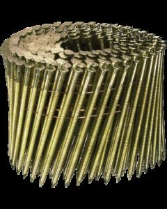 Doos à 3.600 ringspijkers op draad 16° - 3,1 x 90 gegal. fabr. Kenta