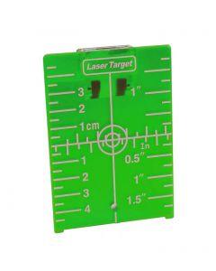 Doelplaat groen met magneet, fabr. Levelfix