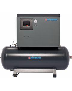 Geluidsgedempte zuigercompressor 14 bar 5,5 PK 400V, fabr. Airmec - type FS 610300