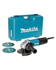Haakse slijper 230V, fabr. Makita - type 9558HNRGK2