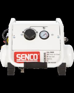 Olievrije geluidsarme compressor 230V, fabr. Senco - type AC8305