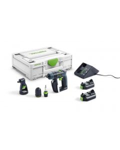 Schroef-/boormachine 10,8V, fabr. Festool - type CXS 2,6-Set