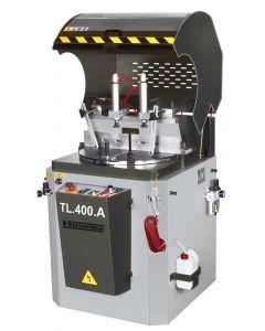 Aluminium cirkelzaagmachine 400V, fabr. Huvema - type TL 400 A
