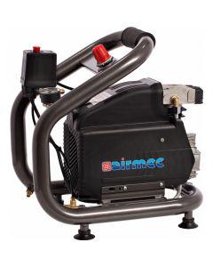Draagbare oliegesmeerde compressor 230V, fabr. Airmec - type Colibri