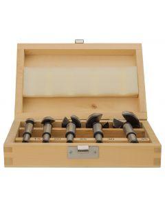 Cilinderkopboorset 5-delig Forstner, fabr. Makita - type D-47363