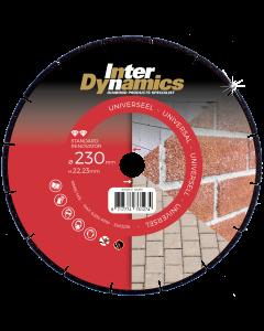 Diamantzaagblad ø 125x22.23mm - universeel, fabr. Inter Dynamics - type Renovator Standard