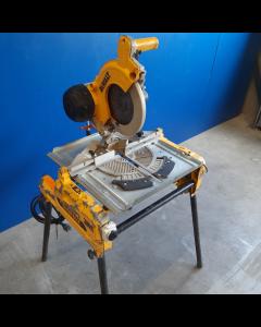Combinatiezaag 230V, fabr. DeWalt - type DW743 - type 5