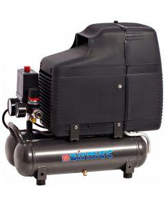 Draagbare olievrije zuigercompressor 230V 1,5PK, fabr. Airmec - type ECU201