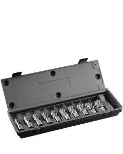 10-delig HSS kernborenset 30mm, fabr. Euroboor