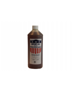 Fles à 1 liter gear olie, fabr. Kenta