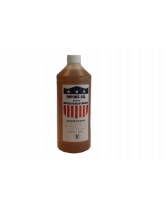 Fles à 1 liter hydrauliek olie, fabr. Kenta