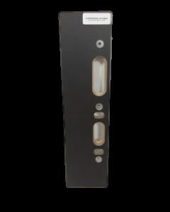 Freesmal voor sluitplaat met magneet, fabr. Riens - type Intersteel