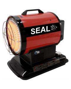 Draagbaare dieselgestookte verwarmer, fabr. Seal - type IR 20 T