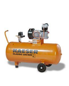 Zuigercompressor 230V 2PK, fabr. Kaeser - type Classic 320/90
