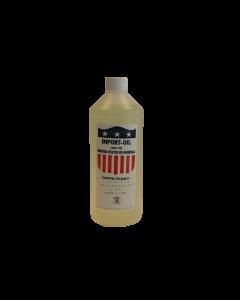Fles à 1 liter compressorolie H68, fabr. Kenta