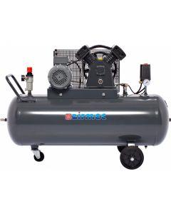 Mobiele oliegesmeerde zuigercompressor 400V, fabr. Airmec - type KP150400 P