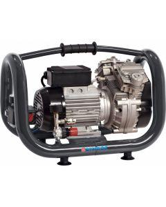 Draagbare olievrije zuigercompressor 230V 1,5PK, fabr. Airmec - type KZ-240-05
