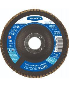Lamellenschijf 125x22,23mm K60, fabr. Dronco