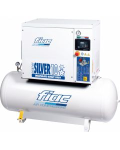 Schroefcompressor 10PK 400V, fabr. Fiac - type New Silver D 10/300