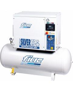 Schroefcompressor 7,5PK 400V, fabr. Fiac - type New Silver D 7,5/300