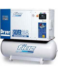 Schroefcompressor 400V 15PK, fabr. Fiac - type New Silver D 15/500