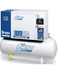 Schroefcompressor 400V  7,5PK, fabr. Fiac - type New Silver D 7,5/300