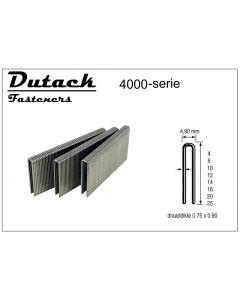 Doos à 5.000 gegalvaniseerde nieten - 4,9mm breed, fabr. DutackPro - type 4000