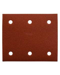 Set à 10 schuurvellen 114x102 Red Velcro, fabr. Makita