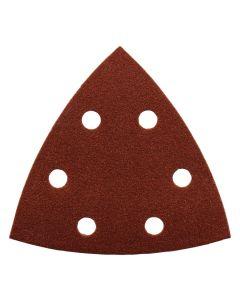 Set à 10 schuurvellen driehoek, fabr. Makita