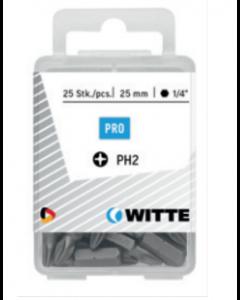 Set à 15 bits PH - lengte 25 mm, fabr. Witte