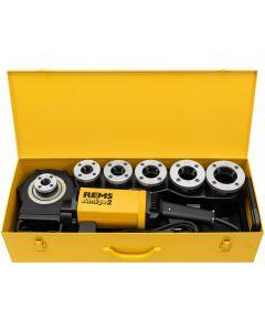 Draadsnijmachine 230V, fabr. REMS - type Amigo 2 - set