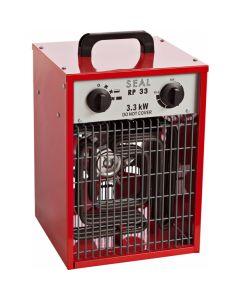 Draagbare elektrische verwarmer 230V, fabr. Seal - type RP 33