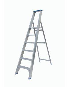 Enkele trap 1 x 6 treden, fabr. Solide - PT06