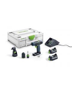 Schroef-/boormachine 10,8V, fabr. Festool - type TXS 2,6-Set