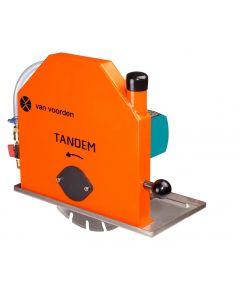 Muurzaagmachine 230V, fabr. Vanvoorden - type Tandem + PCRD 300mm